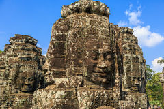 Bayon Temple. Siem Reap, Cambodia Royalty Free Stock Photography