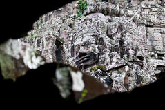 Bayon Temple Smiling Buddha Stock Photography