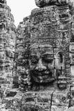 Bayon temple smiling buddha face Angkor Wat Siem Reap Cambodia. Bayon temple smiling buddha face Angkor Wat Siem Reap Cambodia stock images