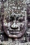Bayon Temple Smiling Face Stock Photos