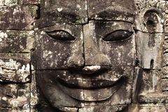 Free Bayon Temple Stone Face In Detail, Angkor Wat, Cam Royalty Free Stock Image - 26529406