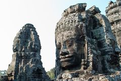 Bayon temple tower faces 3 Stock Image