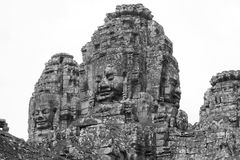 Bayon Temple Towers - Angkor Royalty Free Stock Image