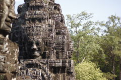 Bayon Temple Royalty Free Stock Photography