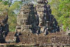 Bayon tower, Cambodia Stock Photo
