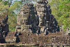 Bayon tower, Cambodia Stock Photo