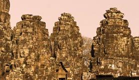 Bayon tower, Cambodia Royalty Free Stock Photos
