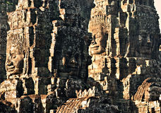 Bayon tower, Cambodia Royalty Free Stock Images