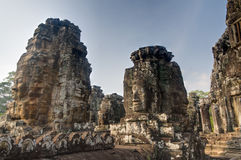 Bayon Towers Royalty Free Stock Photo
