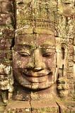 Bayon Uśmiech Obraz Royalty Free