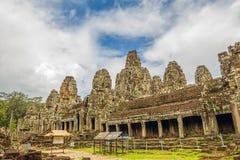 Bayon świątyni ruiny Fotografia Royalty Free