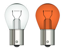 Bayonet car bulb Stock Photography