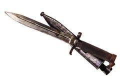 Bayoneta oxidada Imágenes de archivo libres de regalías