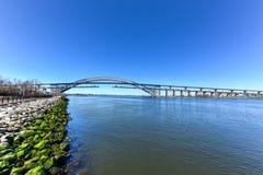 Bayonne-Brücke Stockfoto