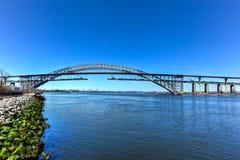 Bayonne-Brücke Lizenzfreies Stockfoto