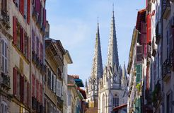 Bayonne Cathedral Royalty Free Stock Photo