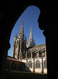 Bayonne cathedral. France bayonne cathedral and cloisters Royalty Free Stock Photography