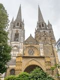 Bayonne Cathedral. Cathedral of the city of Bayonne in Southwestern France Stock Photography