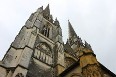 Free Bayonne Cathedral, France Royalty Free Stock Photos - 137120108