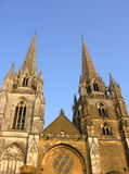 Bayonne Cathedral in Southwestern France Royalty Free Stock Photos