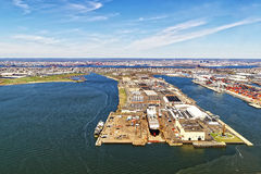 Bayonne Dry Dock and Repair Royalty Free Stock Image