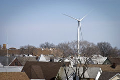 bayonne mal wind Arkivfoto