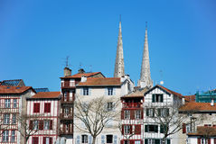 Bayonne in South of France Stock Images