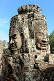Bayons angor-Wat-Καμπότζη Στοκ Εικόνες