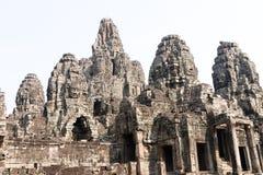 Bayons Angor-Wat-Cambodia stock photo