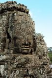 Bayons Angor-Wat-Cambodia foto de stock royalty free