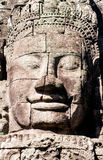 Bayontempel in Angkor Wat, Stock Afbeelding