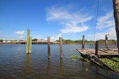 Bayou Lafourche, Louisiana lizenzfreie stockfotos
