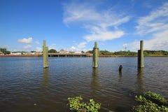 Bayou Lafourche, Louisiana stockfotografie