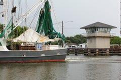 Bayou Lafourche, Louisiana lizenzfreie stockfotografie