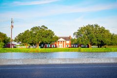 Bayou Lafourche, Louisiana stock images
