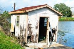 Bayou Lafourche, Louisiane Photos libres de droits