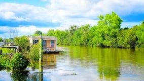 Bayou Lafourche, Louisiane royalty-vrije stock fotografie