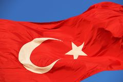 Bayrak. Türk Bayrağı/Turkish Flag Royalty Free Stock Image