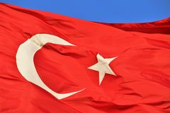 Bayrak. Türk Bayrağı/Turkish Flag Royalty Free Stock Photos