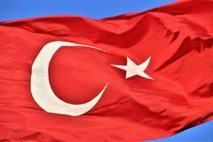 Bayrak. Türk Bayrağı/Turkish Flag Royalty Free Stock Photography