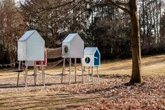 Bayreuth city - playground stock images
