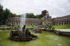 Bayreuth Eremitage stock photography