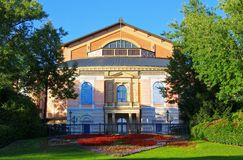 Bayreuth Festival Theatre Stock Photos