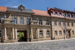 Bayreuth gammal stad 2017 royaltyfri bild
