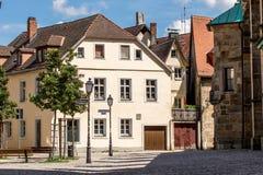 Bayreuth gammal stad Arkivbild