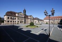 Bayreuth - Jean Paul Platz Imagem de Stock Royalty Free