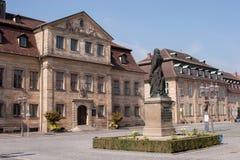 Bayreuth - Jean Paul Platz Imagens de Stock Royalty Free
