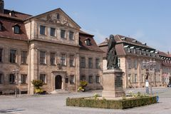 Bayreuth - Jean Paul Platz Royalty Free Stock Images