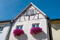 Bayreuth old town Anno 1686 royalty free stock photo