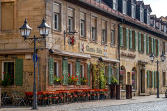 Bayreuth old town 2017 Stock Image